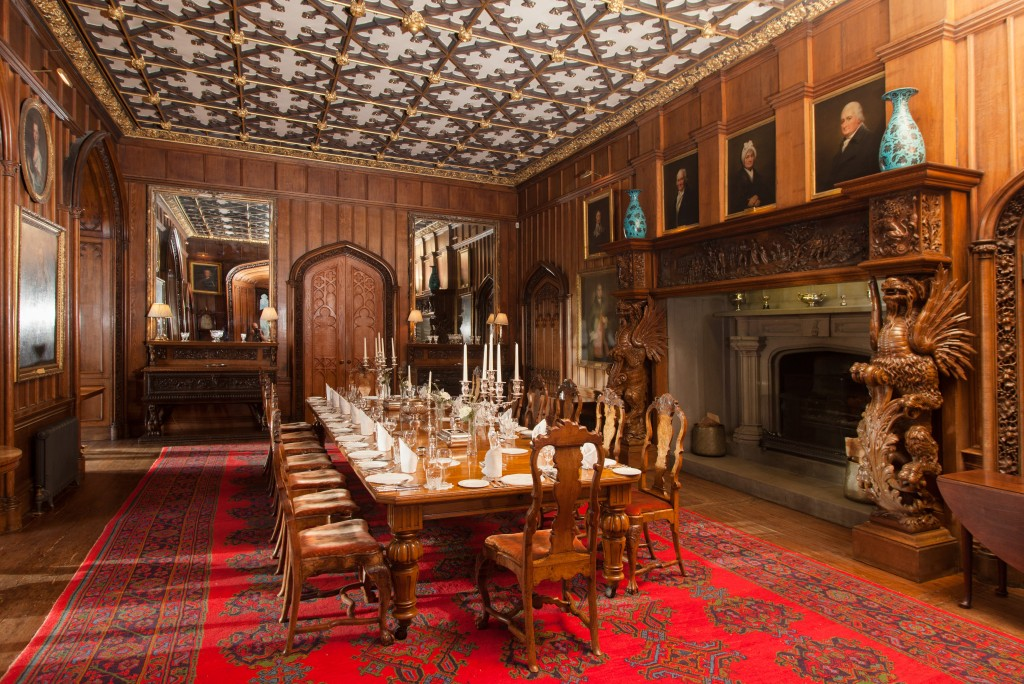 dining room duns castle dining room in henry ii s great tower dover castle youtube